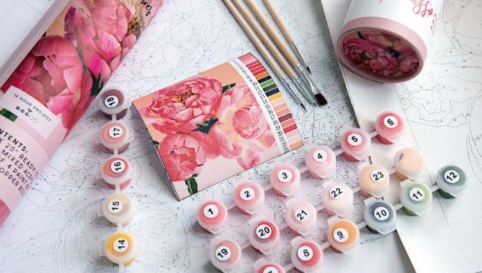La peinture par numéro, le nouveau passe-temps à la mode